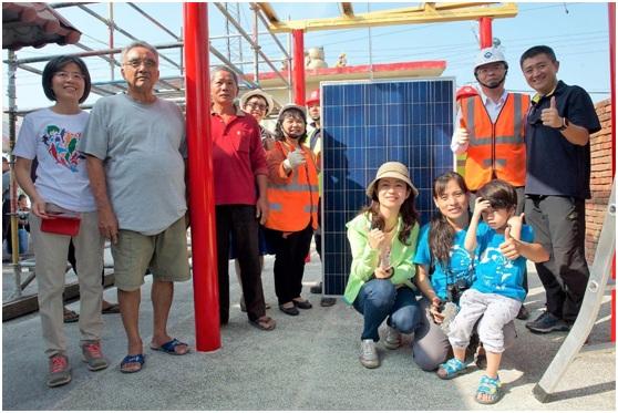 ▲2017年我與洪宗熠委員參與彰化台西村綠能社區工作坊