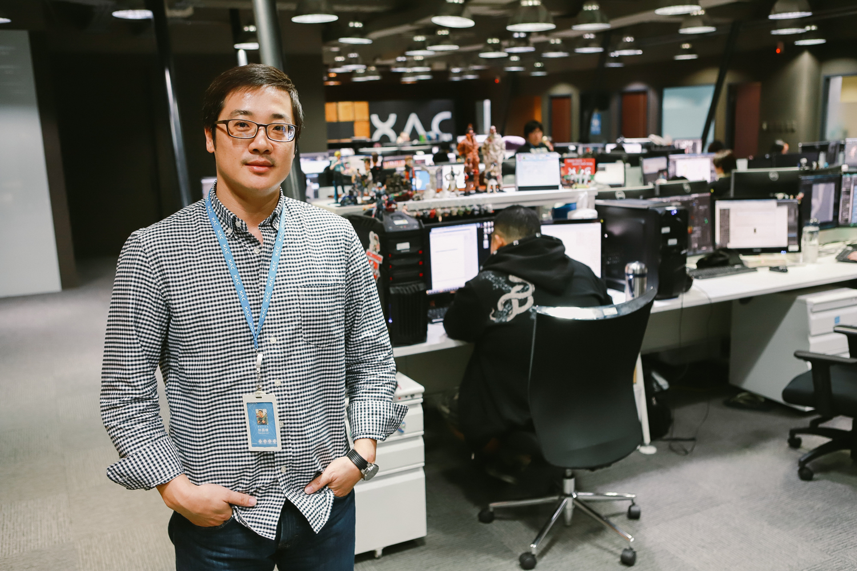 「樂美館」執行長林國棟 圖:陳宣如/攝