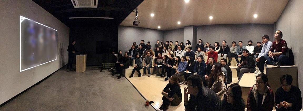 蘇州「樂美館」與來訪的客戶進行專案交流講座 圖:樂美館/提供