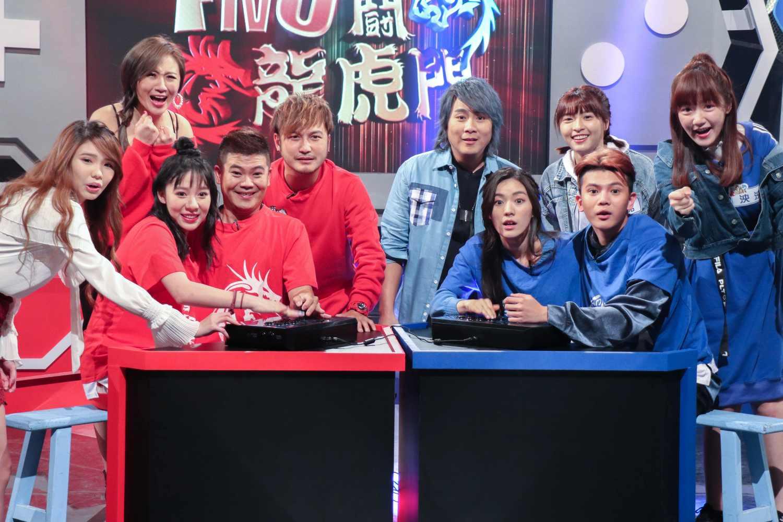 《FIVE鬪!龍虎門》由王仁甫、KID聯手主持,他們各自帶領龍虎兩隊對戰玩遊戲。