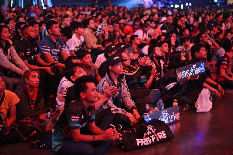 來自地主隊泰國賽區的SPS擁有大批死忠粉絲到場支持。