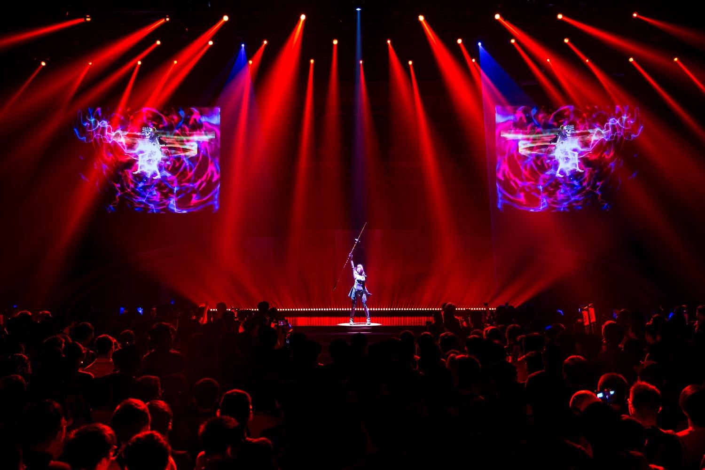 全球知名手遊《FateGrand Order》二週年慶典,經典場景真實還原 ,千名玩家齊聚開趴