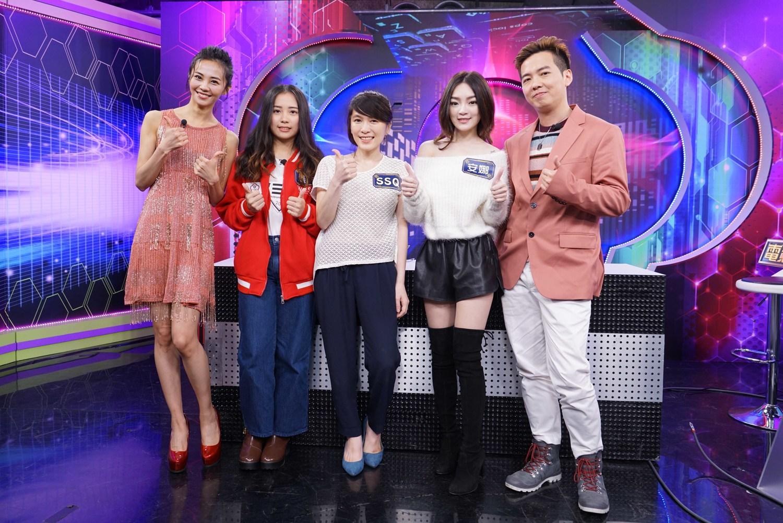 本集大合照:安娜李(右起)、蝶兒、SSQ、安娜、SoBaD。