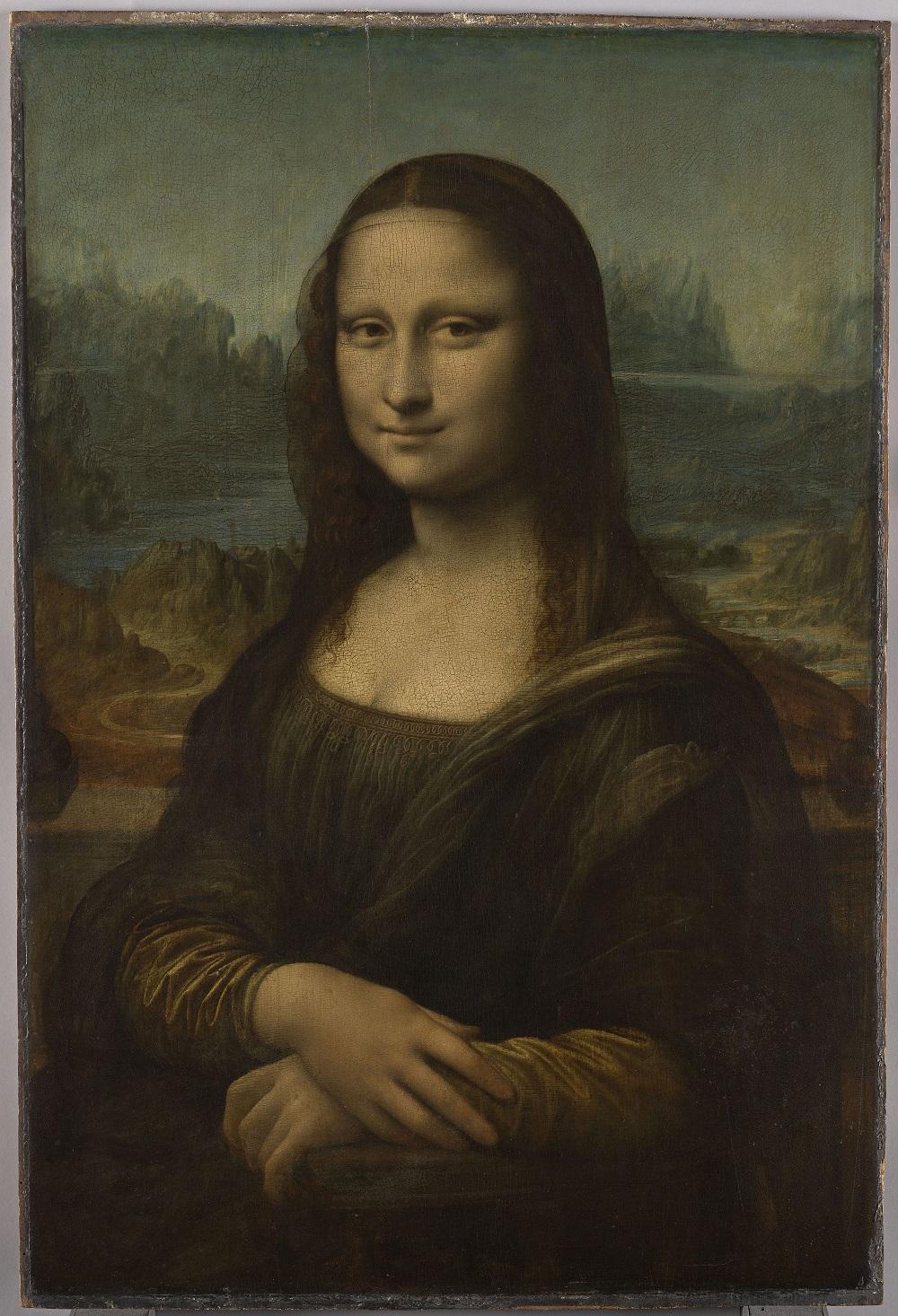 達文西世界名畫《蒙娜麗莎:越界視野》。圖:HTC Vive提供