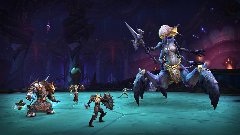 艾薩拉的永恆殿堂團隊副本遊戲內實景。