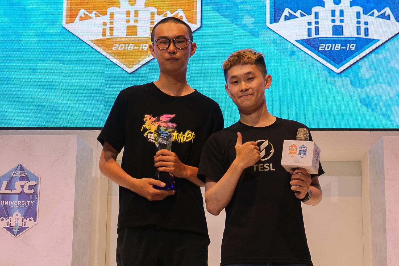 王柏翔作為全隊的「大腿」,最終仍獲得總決賽MVP殊榮。