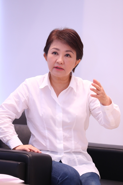 新頭殼專訪盧秀燕市長。圖/中市府提供