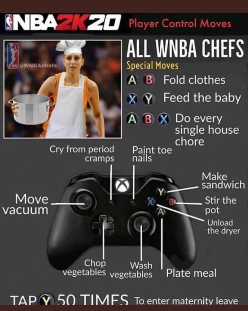 惡劣網友取笑NBA 2K將加入「MyKitchen」模式。
