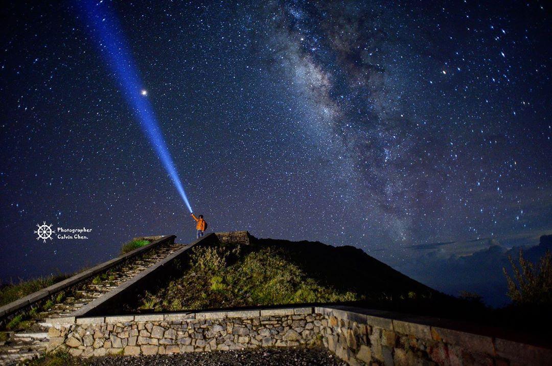 合歡主峰步道第一觀景台因為神似馬雅文化中的建築,故被人暱稱為馬雅平台。圖:IG/cys_991011提供