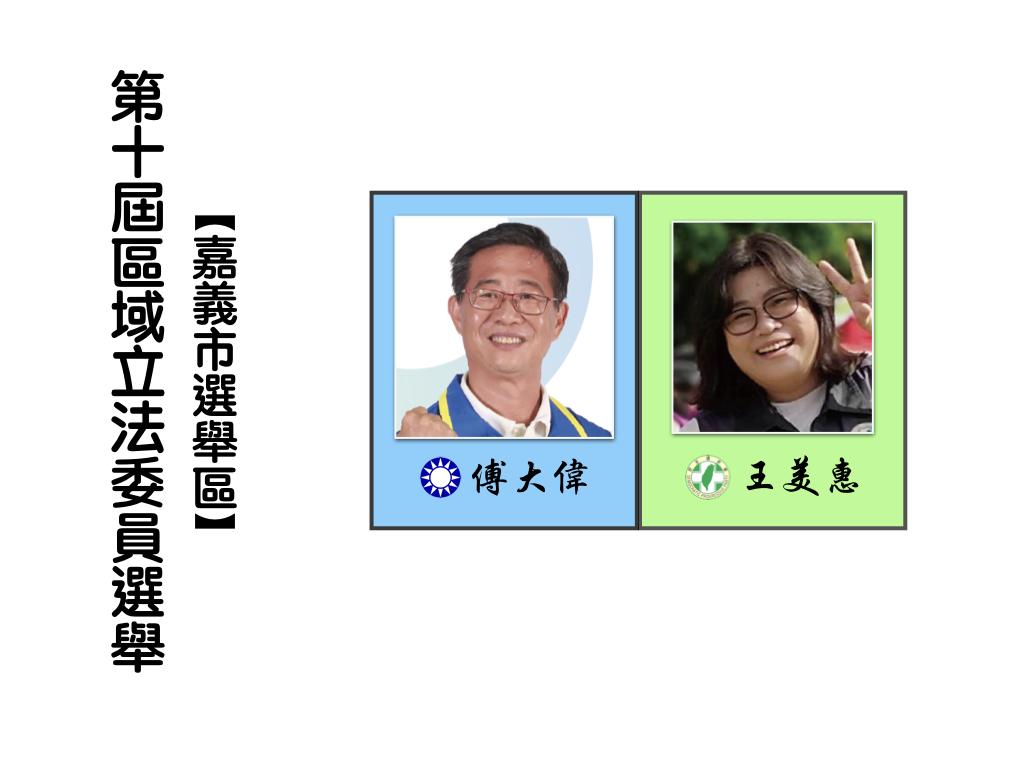 區域立法委員選舉,嘉義市選舉區。