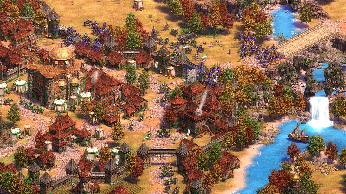 《世紀帝國II:決定版》擁有4K超高畫質。