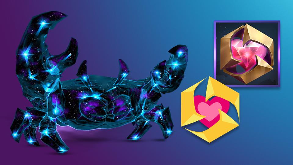 《暴雪英霸》遊戲內好禮:在萬象界域使用 BlizzCon 的紀念噴漆和頭像留下你的足跡,並駕著「星穹深伏蟹」坐騎奔赴戰場。物品即日起已可於遊戲內使用!