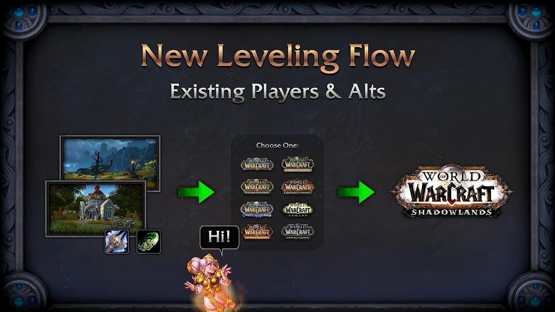 死亡騎士、惡魔獵人同樣將從1等開始,同盟種族則是略過這塊區域自10等開始,老玩家也可以選擇略過新手區域。
