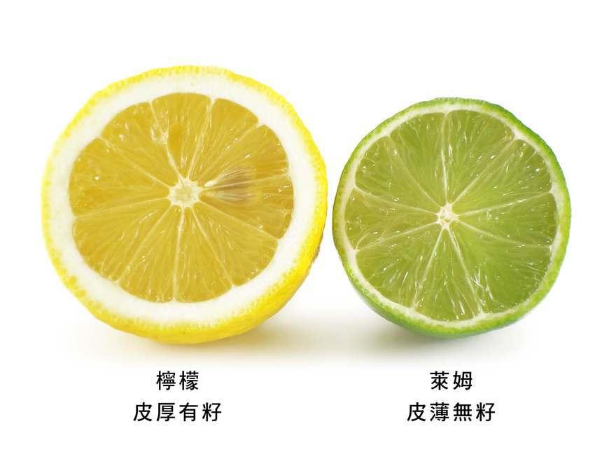 檸檬和萊姆因會成熟度都會由綠變黃,兩種顏色都有 圖:取自農委會農業易遊網
