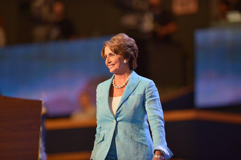 美國眾議院議長斐洛西。圖:翻攝自Nancy Pelosi臉書
