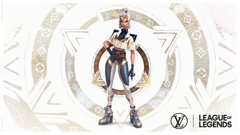 「真傷樂團」成員席安娜擁有稱作「尊爵不凡」(Prestige)的特別版造型,由路易威登(Louis Vuitton)女裝藝術總監Nicolas Ghesquière操刀設計。