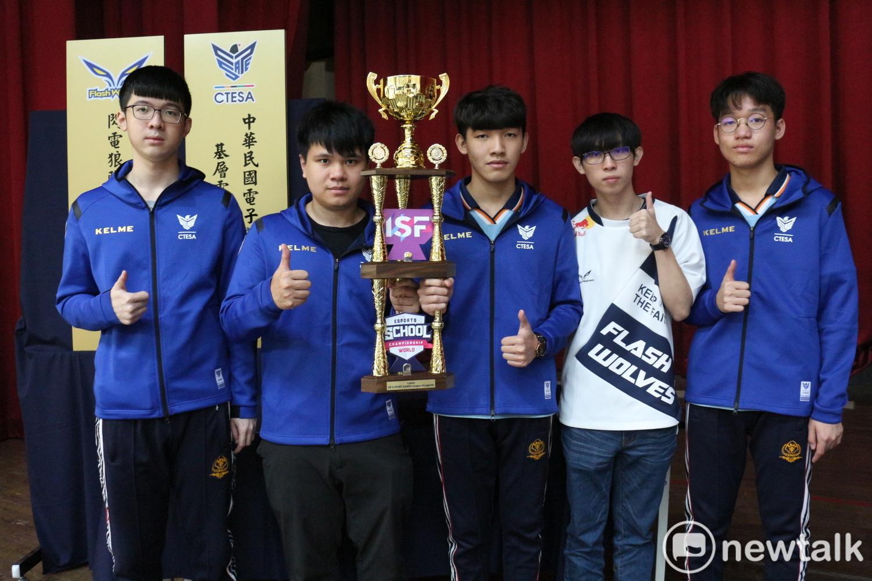 東泰太陽隊在烏克蘭所舉行的ISF世界中學生運動會並打出完美五連勝奪冠。