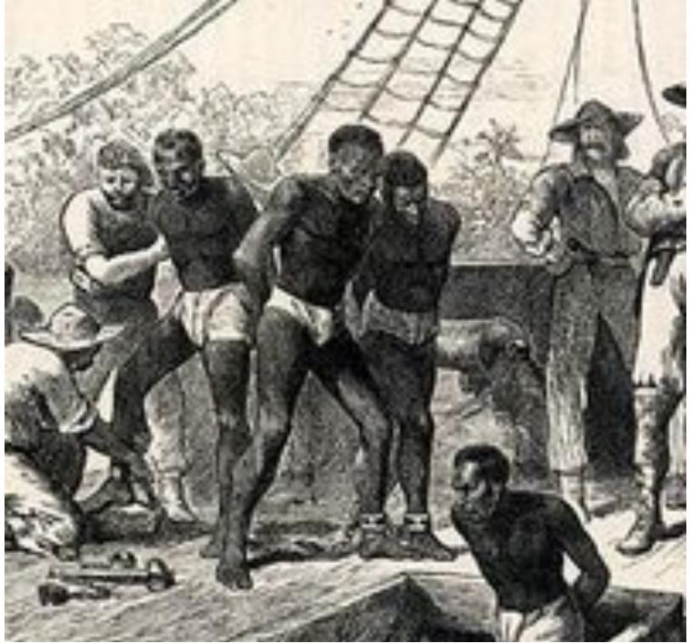 美國南方種植棉花田缺乏大量人力,故大量引入黑奴之廉價勞力。 圖:擷取自華人百科(資料照片)