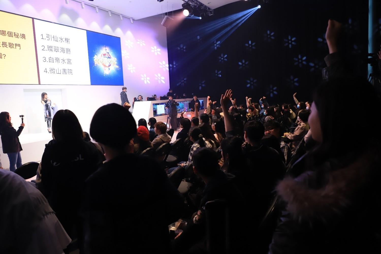 玩家踴躍參加趣味十足的有獎徵答活動。