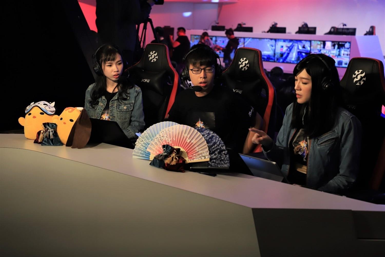 本次賽事主播賽評「白雨微曦」、「沐羽瓔」、「太古聲」帶來專業生動地解說,為競技大師賽增色。