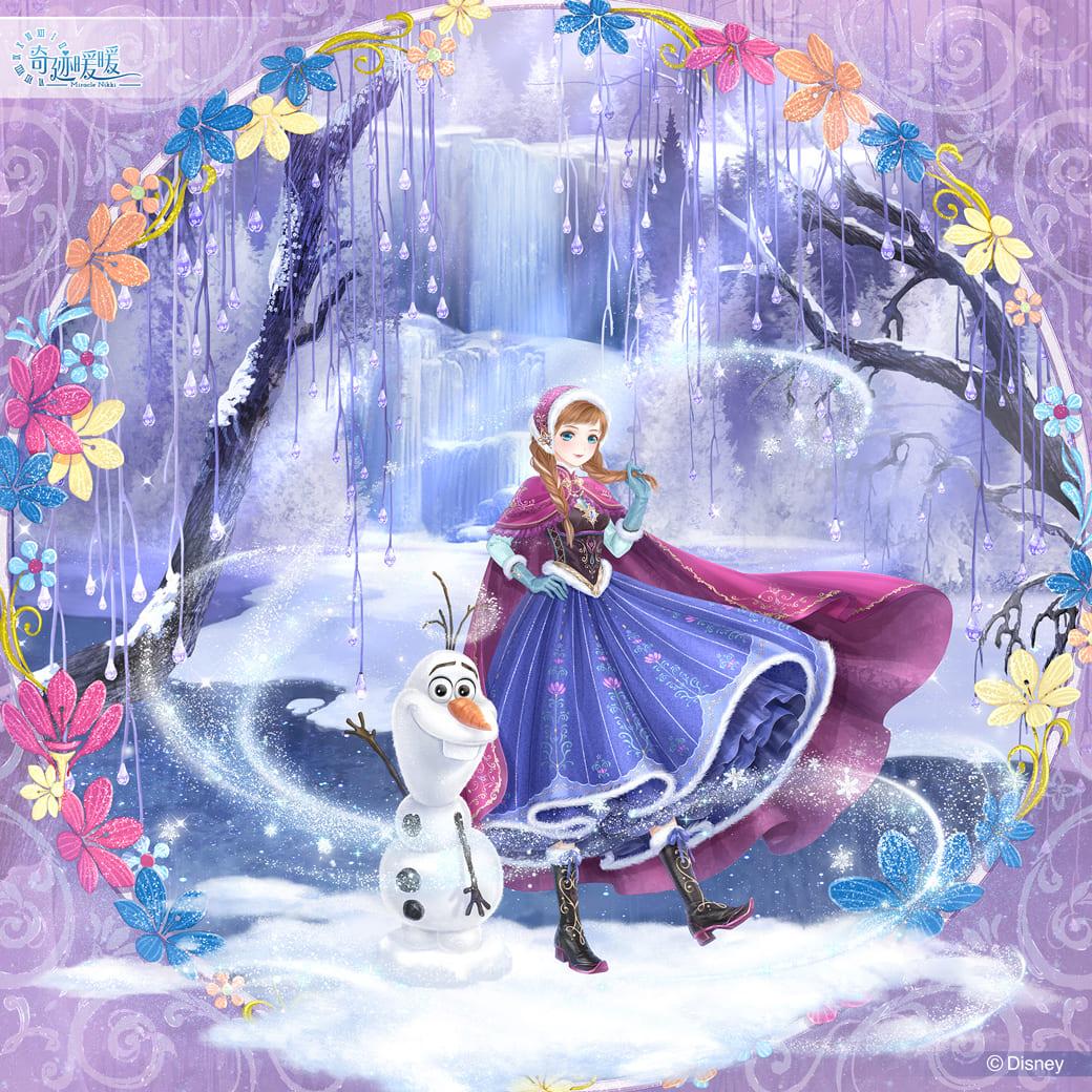 《奇迹暖暖》再次與迪士尼攜手合作並推出4款超精緻的《冰雪奇緣》主題套裝。