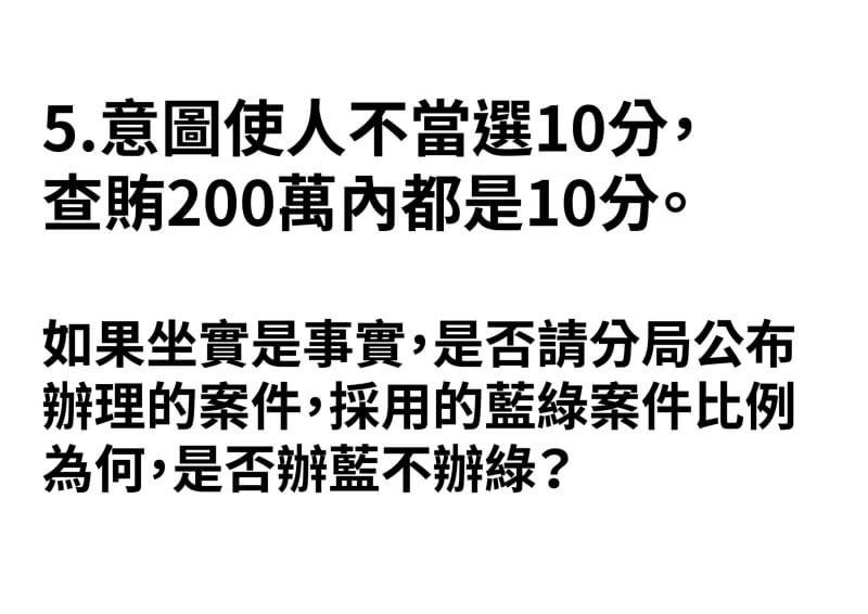 游淑慧質疑,是否攻擊蔡英文的假訊息就會立刻被辦?對於韓國瑜的抹黑卻視而不見?