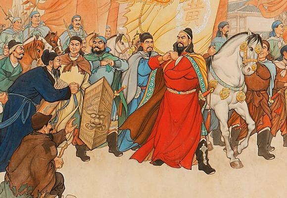 西元874年河南爆發了農民革命的黃巢之亂。 圖:翻攝自文化騰訊網