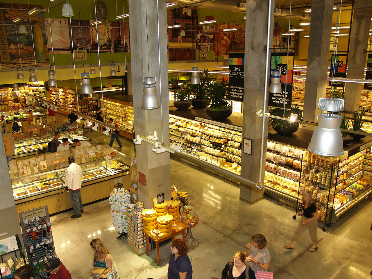 Whole Foods Markets(取自Wikipedia,David Shankbone - CC BY-SA 3.0)