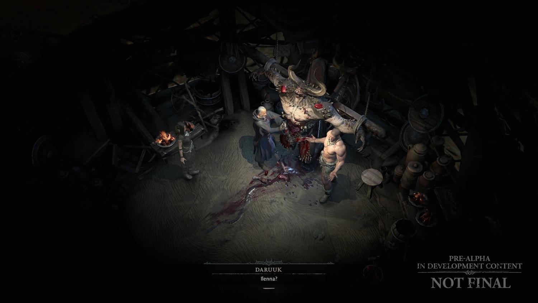 《暗黑破壞神IV》將嘗試混合自動生成與手動編排鏡頭以處理對話橋段。 圖:暴雪娛樂/提供
