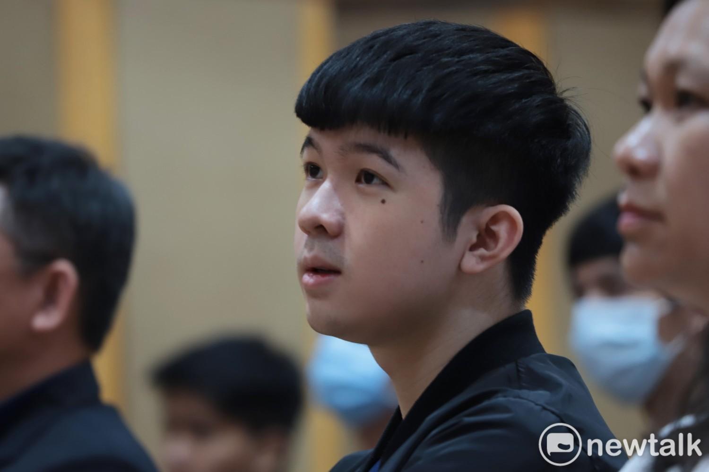 林達緯錄取台灣體育大學休閒運動學系。 圖:陳耀宗/攝
