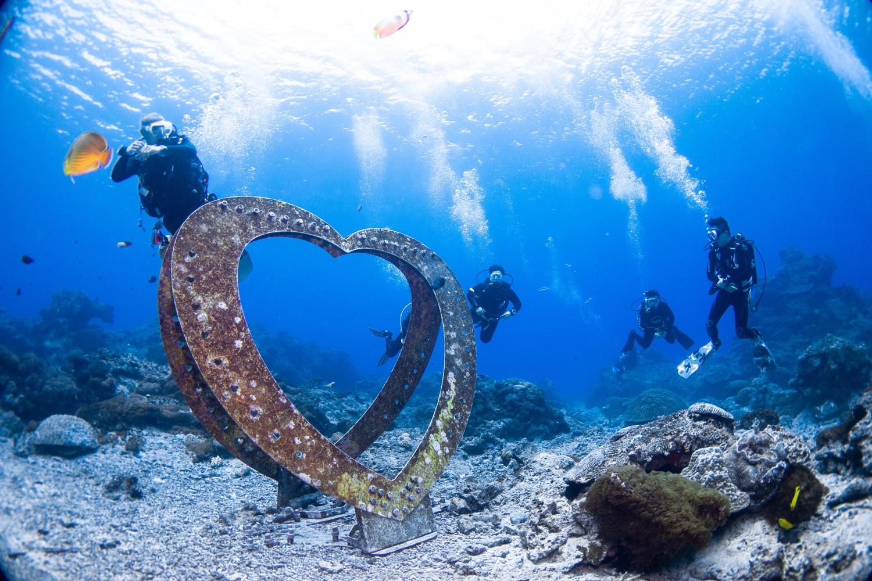 水下世界充滿了神秘,人類至今仍只探索了小部分。 圖:台灣潛水 小唐教練/攝