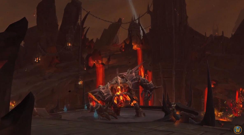「重返淵喉」所釋出的一小段遊戲畫面。 圖:翻攝自World of Warcraft YouTube
