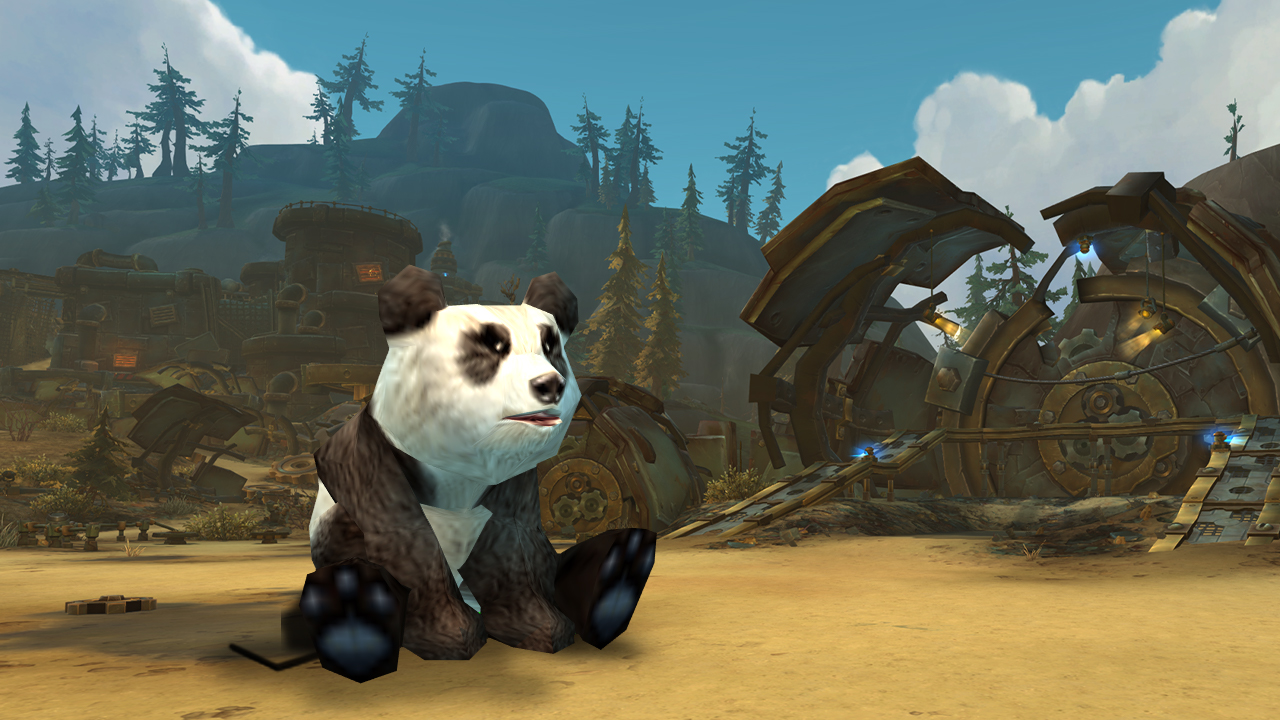 《魔獸世界》經典版玩家只要購買季卡就可以魚遊戲中兌換熊貓寶寶寵物。 圖:翻攝自魔獸世界官方部落格