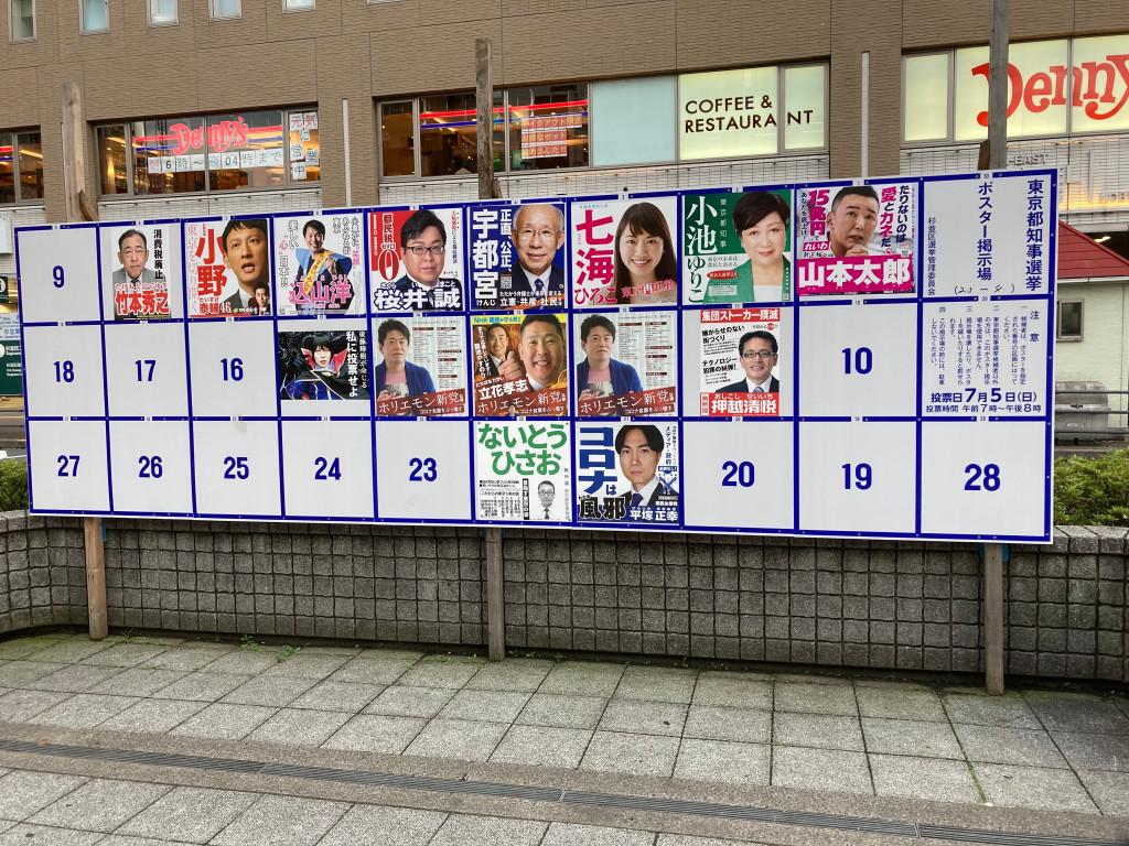 小池百合子為了想在7月5日東京都選舉壓勝而演出防疫成功,不篩不醫,壓低確診人數,現在才大放出 圖:劉黎兒/攝影