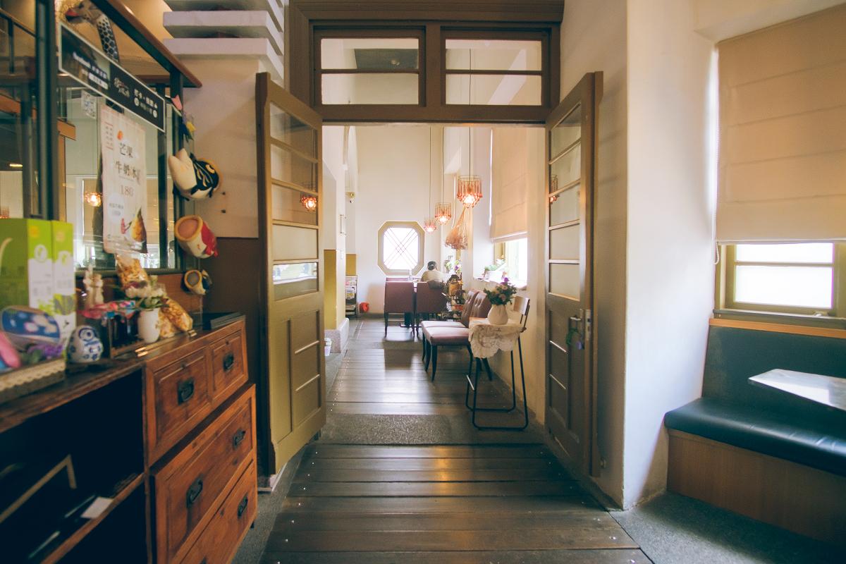 街役場是日治時期當地行政中心,現改建成古色古香的餐廳。 圖:謝佳真/攝