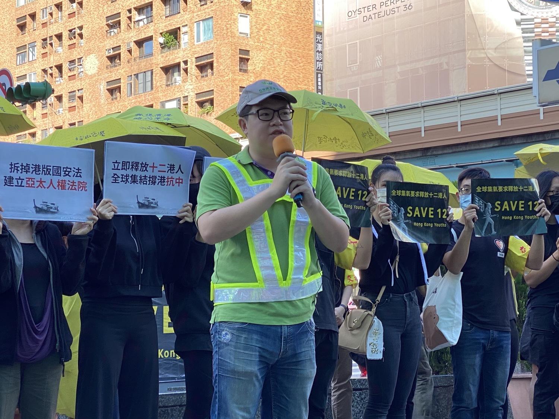 自由台灣黨主席羅宜。圖:周煊惠 / 攝