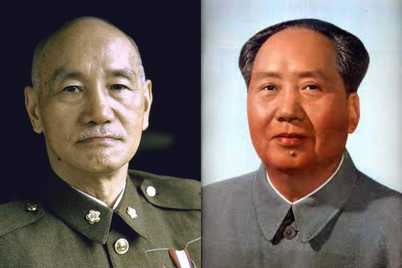 蔣介石(左)、毛澤東(右)。 圖:新頭殼合成