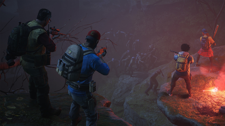 《喋血復仇》同樣為四人制合作射擊遊戲。 圖:翻攝自Steam