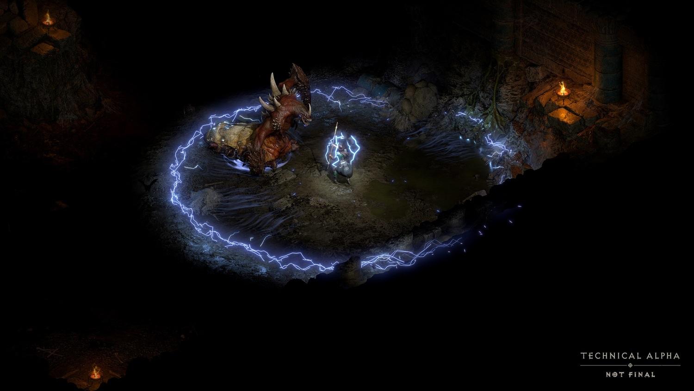 玩家可以在本次測試體驗前兩個章節,挑戰「怨慟女王」安達莉爾與「苦痛之王」都瑞爾。 圖:暴雪娛樂提供