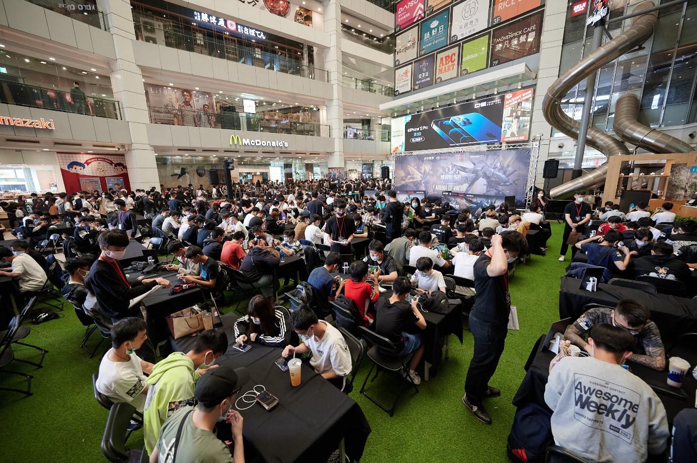 傳說城市每年吸引超過千位玩家到場參賽。 圖:Garena/提供