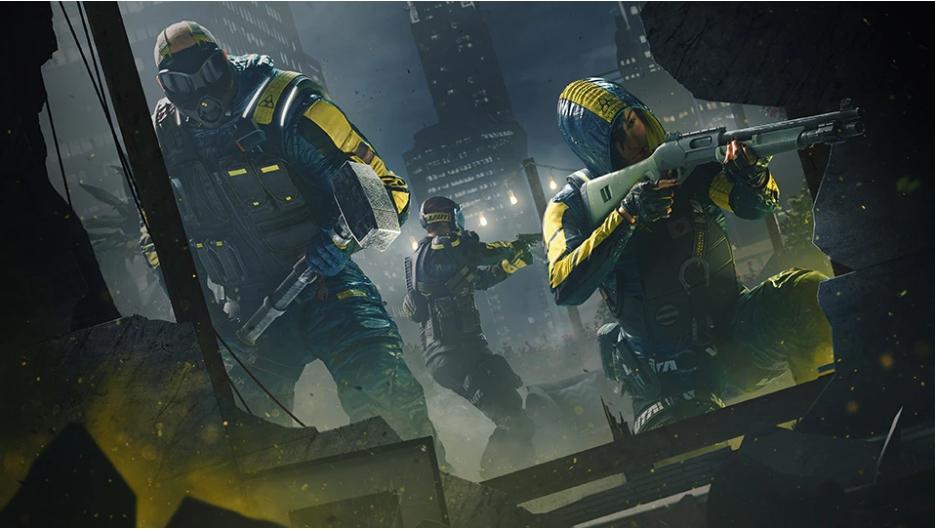 《虹彩六號:隔離禁區》是相當受到玩家期待的多人合作射擊遊戲。 圖:翻攝自育碧官網