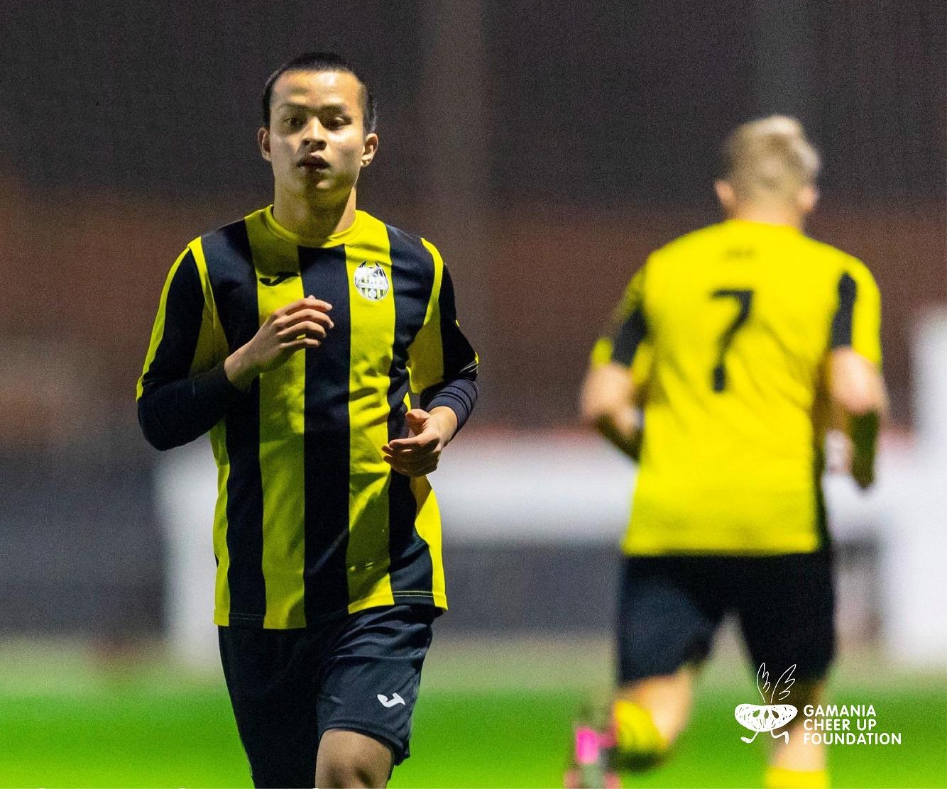 袁永誠成為第一位取得西班牙職業隊合約的台灣球員。 圖:遊戲橘子/提供