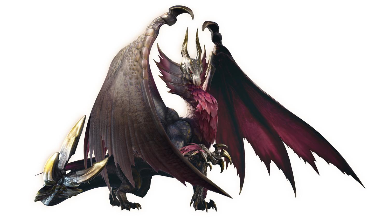 《破曉》封面魔物「爵銀龍」 圖:翻攝自《魔物獵人:崛起》推特