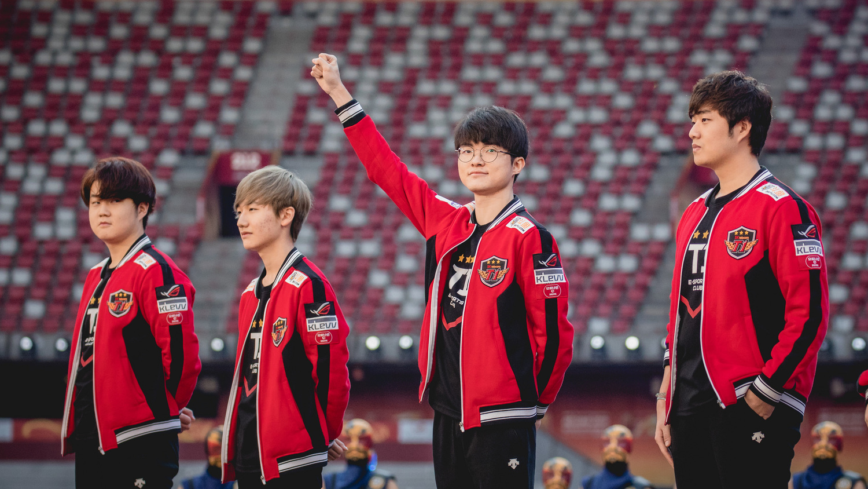 《英雄聯盟》韓國選手Faker是電競領域中最為人知曉的傳奇明星。