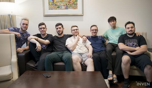 VIT近日接受外媒「Inven」訪問時展現了職業隊伍的氣魄。(圖:翻攝自InvenGlobal)