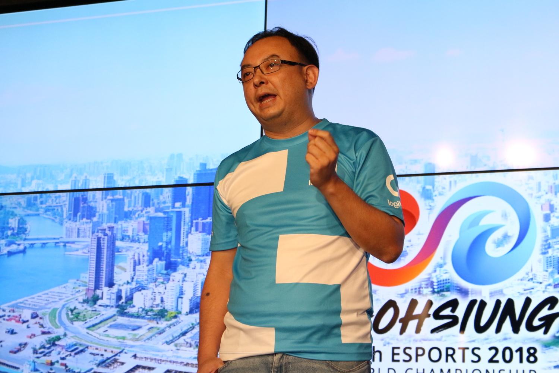 羅技電子台灣區總經理Miles。