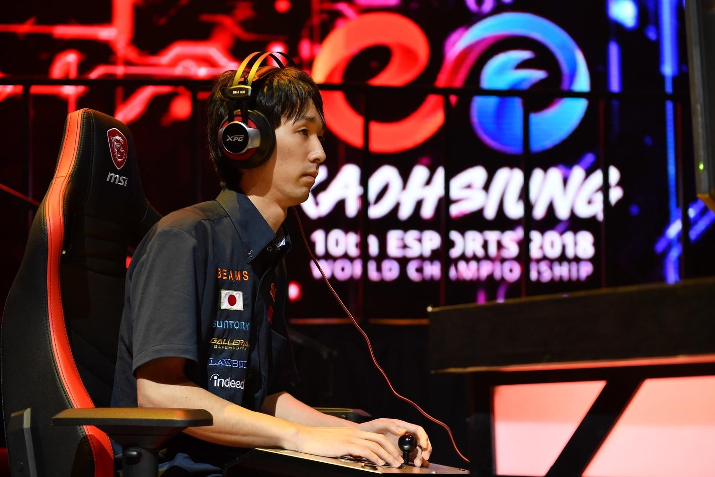 日本代表選手「Hakaioh」。