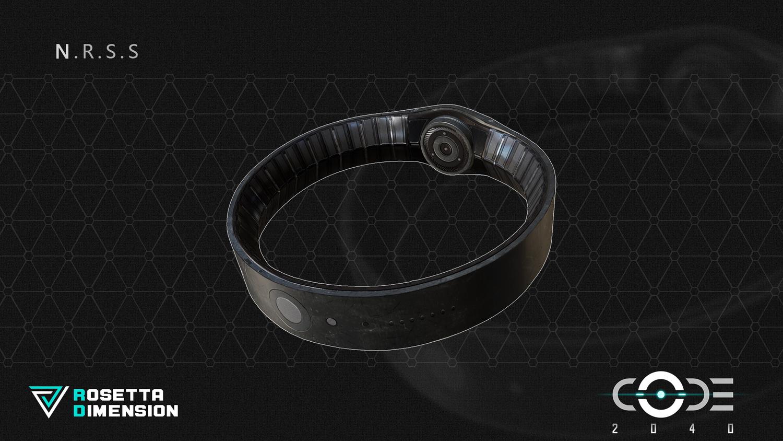「頸環 N.R.S.S」設定圖與實機圖
