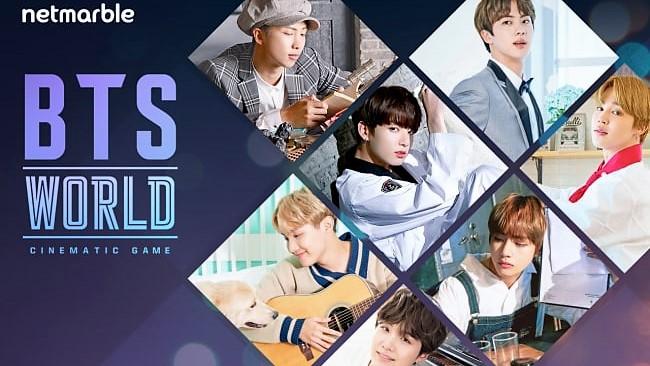 網石公司全新遊戲《BTS World》即將正式上線