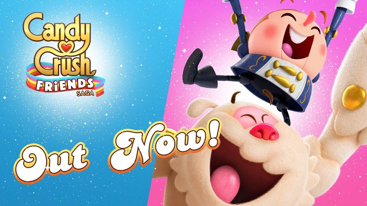 King繼續靠著《Candy Crush Saga》系列稱霸手遊市場。